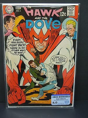 Dc Comics Hawk And Dove #2 1968  Cbcs Raw Grade 6.0 - Black Cover-Steve Ditko