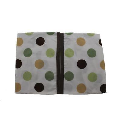 Kids Line 7110 Pop Monkey Green Embroidered Baby Boy Nursery Diaper Stacker BHFO