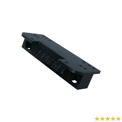 Bastens winch mount plate for the Axial Wraith stock bumper - predrilled holes