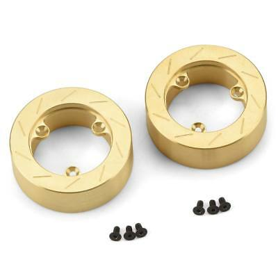 NEW Pro-Line Brass Brake Rotor Weights (2) for 6 Lug 12mm 6292-01