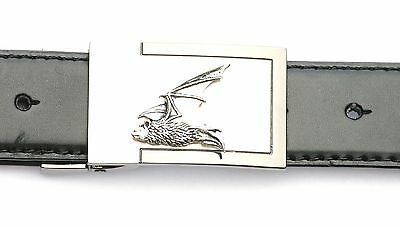 Pipistrelle Bat Belt Buckle and Leather Belt in Gift Tin Ideal Wildlife Present