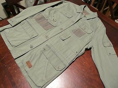 Vtg Mint Ralph Lauren Fishing/hunting Green Shirt.