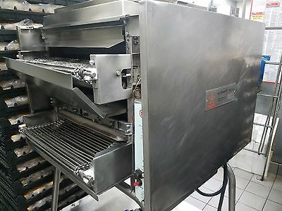 Nieco Conveyor Charbroiler Gas Grill Model 1450 w/ stand and 1 new extra burner