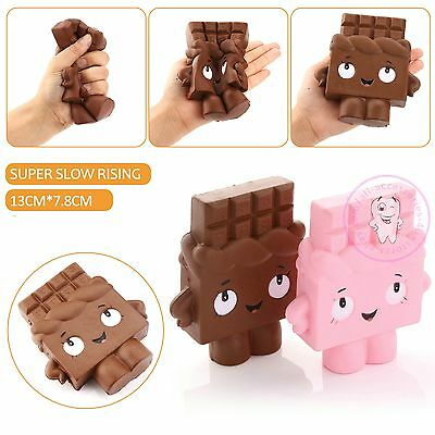 13CM Cartoon Chocolate Girl Squishy Soft Fun Toy Slow Rising Cure Squeeze Gift