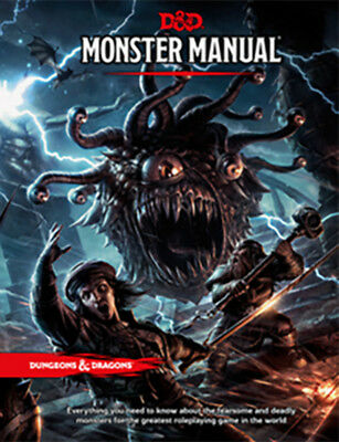 Dungeons & Dragons Monster Manual NEW