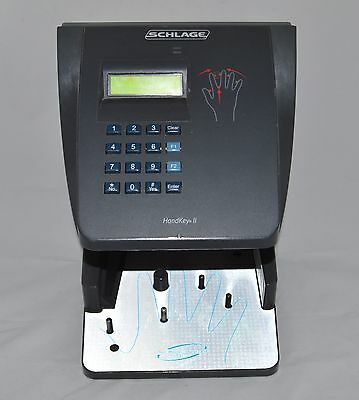 Schlage HandKey II Recognition Systems Biometric Hand Scanner Security TESTED
