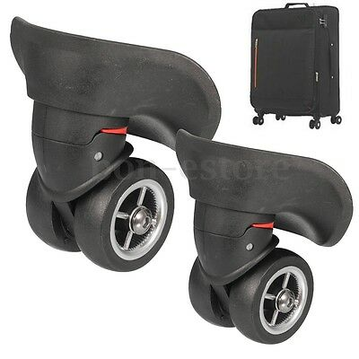 2Pc Luggage Swivel Spinner Replacement Luggage Suitcase Caster Wheels Repair New