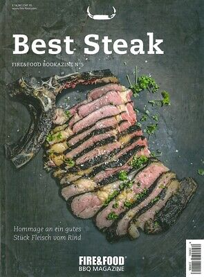 Fire&Food Bookazine No.5: Best Steak, Rezept-Buch/Rezepte/BBQ/Grillen/Barbeque