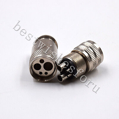 Dental Handpiece Tubing Change Adapter Connector Converter 2 / 4 Hole Two Type