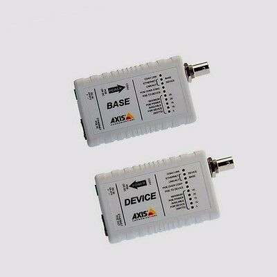 *NEW* AXIS 5026-401 T8640 Ethernet Over Coax Adaptor PoE+ - media converter