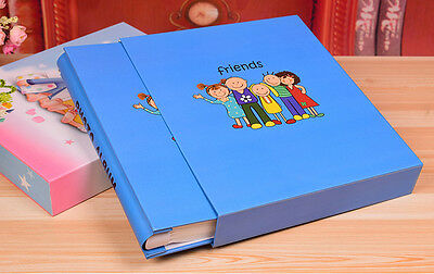 200 Pockets Slip In Photo Album 8 Inches Photos - 2 Designs