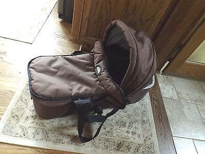 Mountain Buggy Carry Cot Baby Bed Stroller Accessory Brown