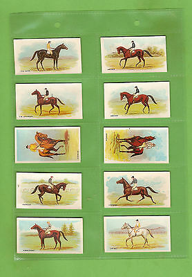 #dd. Rare 1906 Melbourne Cup Winners Wills Cigarette Card Set