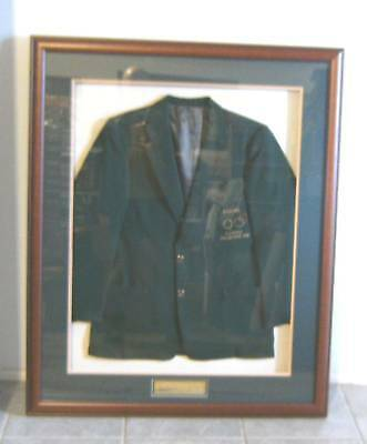 Framed 1956 Melbourne Olympic Volunteer's Jacket - Boxing