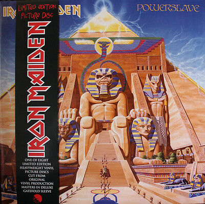 Iron Maiden - Powerslave (2013)  180g Vinyl Picture Disc  NEW  SPEEDYPOST