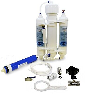 Finerfilters 3 Stage Compact Reverse Osmosis System - RO Unit - Marine Discus