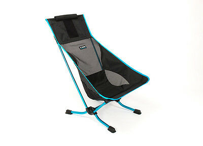 Helinox Beach Chair Black Lightweight Compact Motorcycle Camping Seat