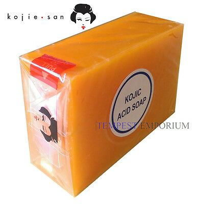 Genuine Kojic Acid Soap 135g by Kojie San Whitening Lightening *Buy 2 Get 1 Free