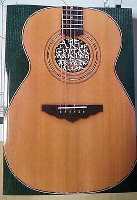 The Art Of Guitar Making Book Luthier Luthiery Classical Steel Design Repairs