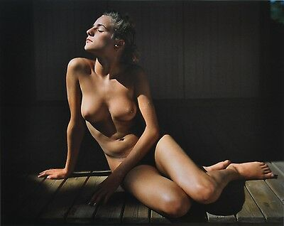 Jock Sturges Original XXL Photo Kunstdruck Art Print 73x67cm Nude Girl Woman Nus