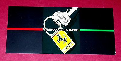 1982 FERRARI 308 GTSi  - Promotional Brochure - Interwood & Wolff, Morgan & Co.