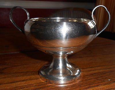 Antique Sterling Silver Sugar Bowl M Mueck-Cary Co New York NY 3256