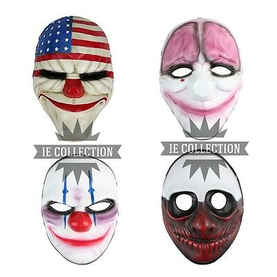 ZAHLTAG 2 KARNEVAL COSPLAY DALLAS WOLF HOXTON CHAINS maske mask payday2 horror