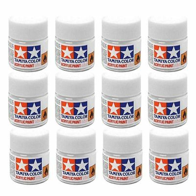 TAMIYA Acrylic Model Paint 10ml - Choose How Many & Colours Model Paints Humbrol