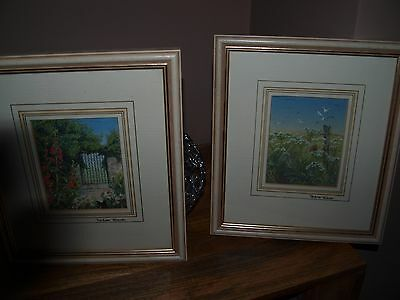 Embroidered Pictures By Pauline Thomas Signed
