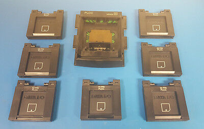 Data I/O 3900/3980 PLCC Programming Adapters w/ 39BASE-0201
