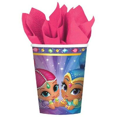 Shimmer and Shine 8 9 oz Hot Cold Paper Cups Birthday Party