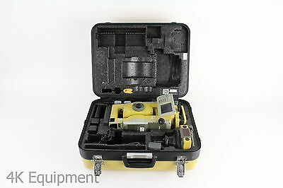 "Topcon QS3A 3"" Robotic Total Station w/ RC-4R Prism System & X-Trac 8 Quicklock"