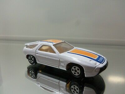 1980's Die Cast Porsche Turbo 928 - Turbo 9 Tampo - N.Mint Loose 1/64 Scale