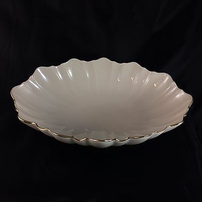 Vintage Centerpiece in Symphony by Lenox Gold Trim Footed Bowl