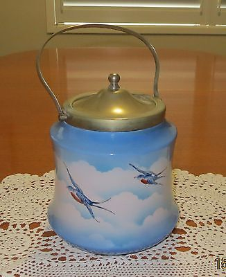 Antique Biscuit Barrel