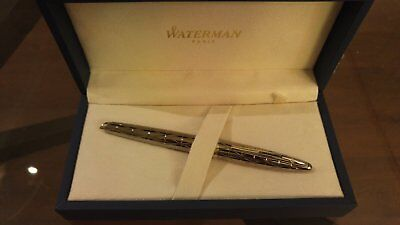 Waterman Carene Contemporary Gunmetal Rollerball Pen ST