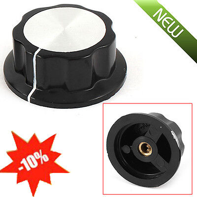 2pcs Top Rotary Control Turning Knob for Hole 6mm Dia.Shaft Potentiometer 36mm