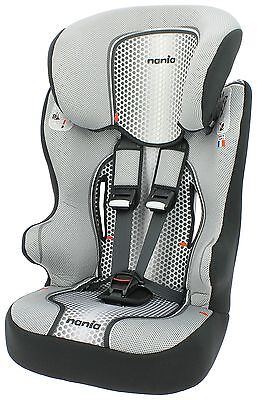 TT Racer First Pop Group 1-2-3 High Back Booster Seat -Black