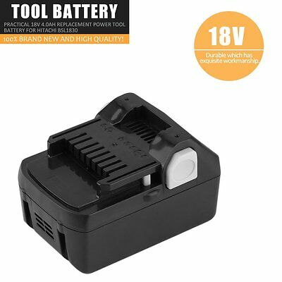 Practical 18V 4.0ah Replacement Power Tool Battery For Hitachi BSL1830 BP