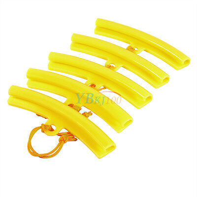 5x Tire Changer Guard Rim Protector Tyre Wheel Changing Edge Tool Set Yellow