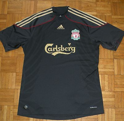 "Liverpool 2009/2010 Adidas Football Away Shirt ""L"" Jersey Trikot"