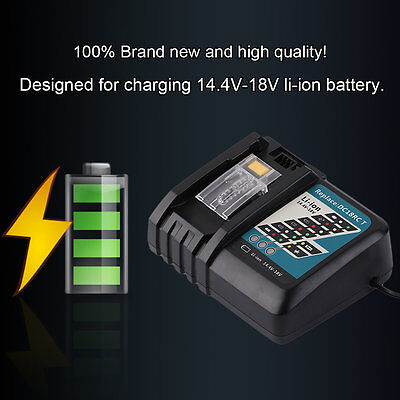 14.4V-18V Replacement Power Tool Battery Charger Li-ion Charger For MAKITA BP