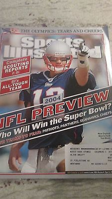 Nfl- New England Patriots And Tom Brady -Sports Illustrated-9/6/2004 Prediction