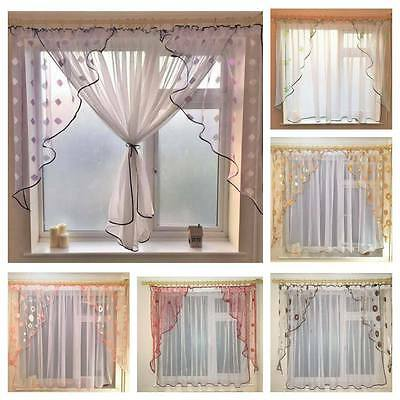 Firany Voile Firanki Ready made Net curtains 005N Voiles