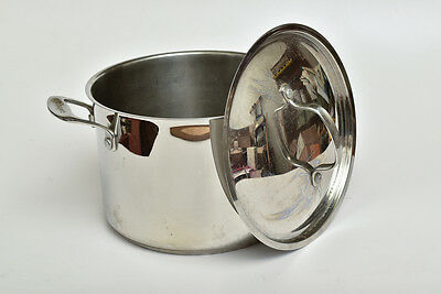 2- Stainless steel stock Pots