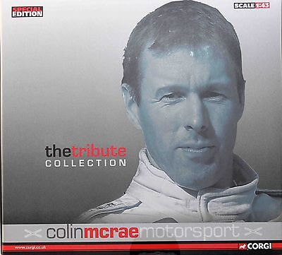 Vanguards 1:43 4 X Colin Mcrae Motorsport Tribute Collection