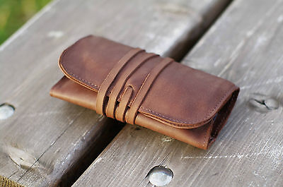 Elf Bread 1.0 - Leather Tobacco Pouch/Case/Holder (FREE Shipping Worldwide)