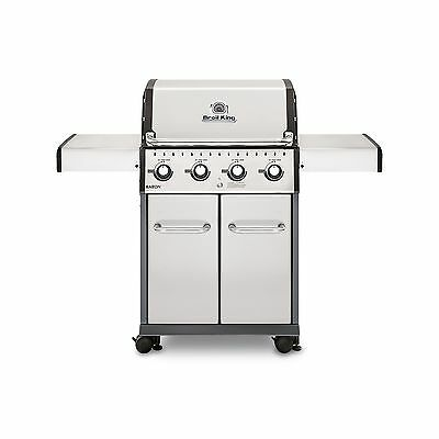 Broil King 922554 Baron 420 S Liquid Propane Gas Grill Stainless Steel 40 0 BTU