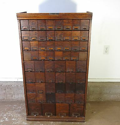 """W.C. Heller Apothecary Multi Drawer early 1900""""s"""