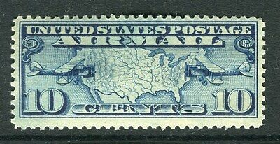 USA;  1926 early AIR issue fine Mint hinged 10c. value